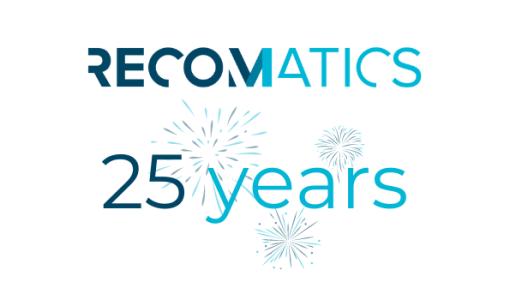 RecoMatics viert 25 jaar
